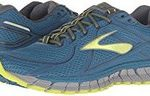 Mens Brooks Adrenaline 17 blue and yellow