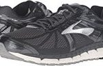 Mens Brooks Beast 16 silver and black