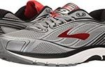 Mens Brooks dyad grey and red