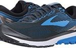 Mens Brooks ghost black and blue