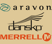 aravon and dansko logo
