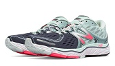 pink grey and teal sneaker